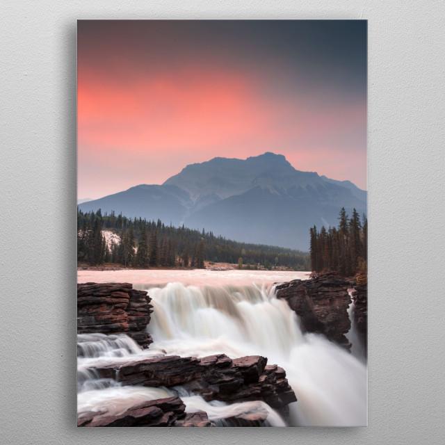 Sunrise. Jasper, Alberta metal poster