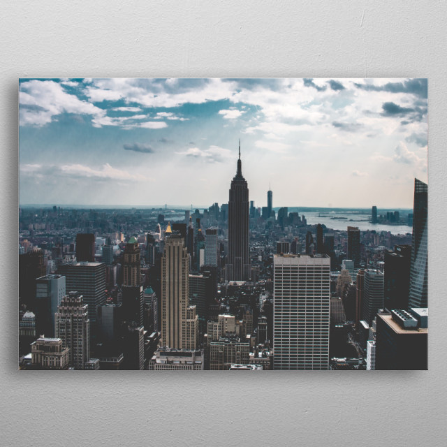 New York 06 metal poster