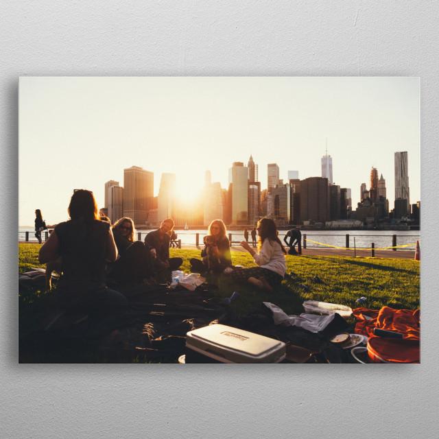 New York 07 metal poster