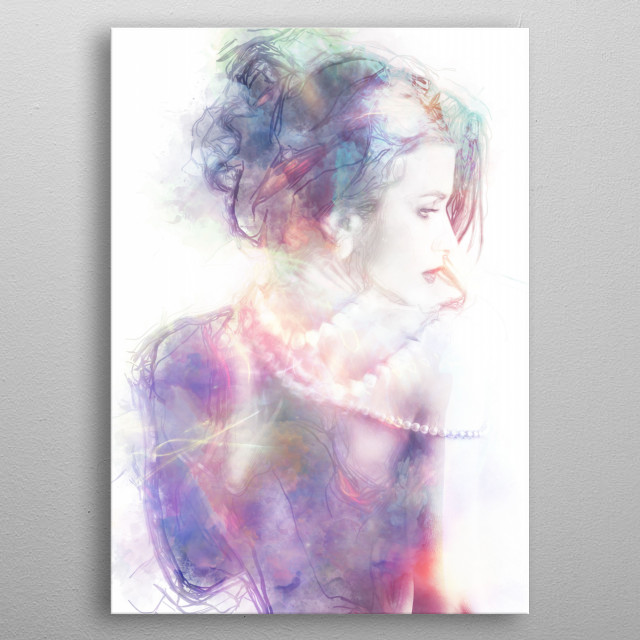 High-quality metal print from amazing Two collection will bring unique style to your space and will show off your personality. metal poster