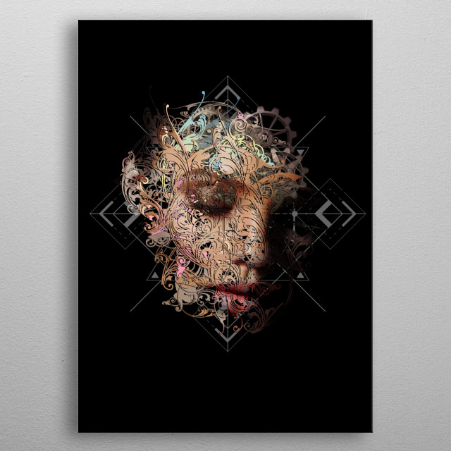 In An Imperfect Light metal poster