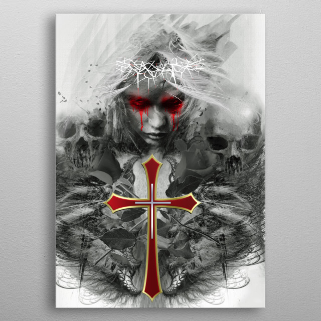 Mother Crucified metal poster