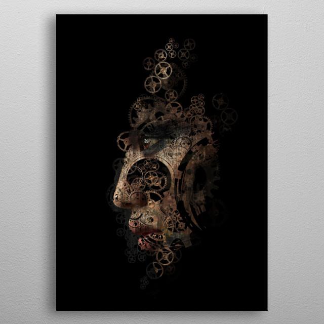 Tempus Fugit  metal poster
