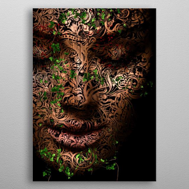 GAIA - Mother Nature metal poster