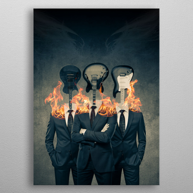 Architects of Our Own Destiny metal poster