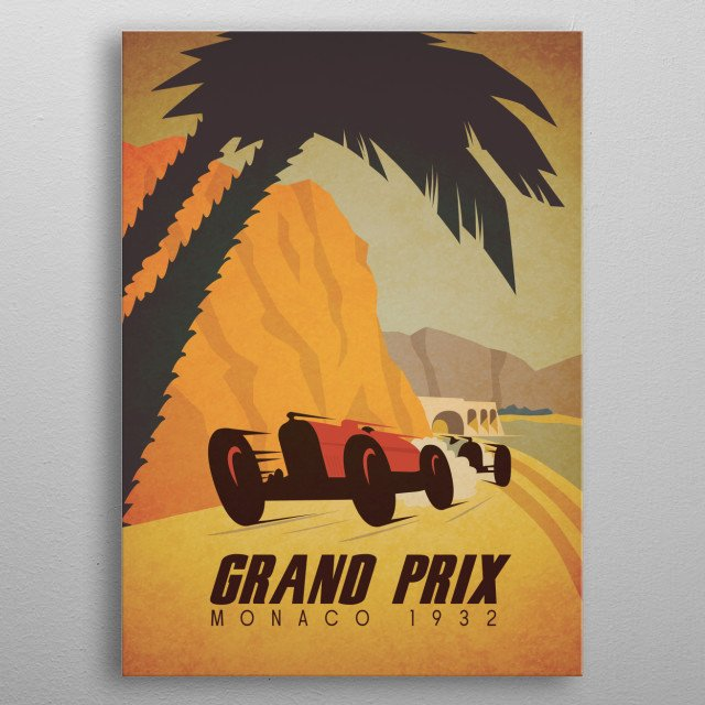 High-quality metal print from amazing Vintage Vehicles collection will bring unique style to your space and will show off your personality. metal poster