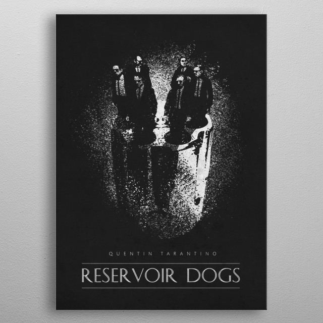 Reservoir Dogs metal poster