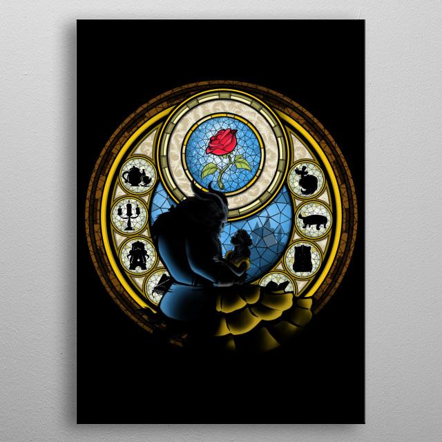La Danse de la Rose metal poster