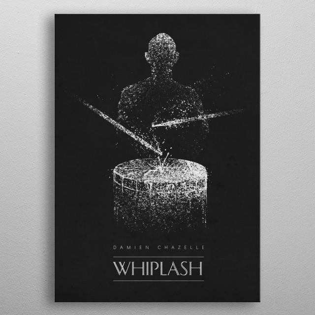 Whiplash metal poster