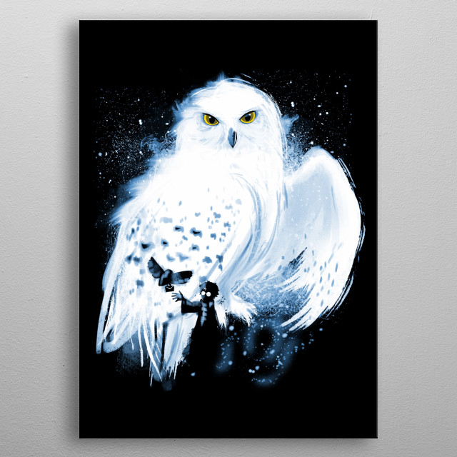Mail by Owl metal poster