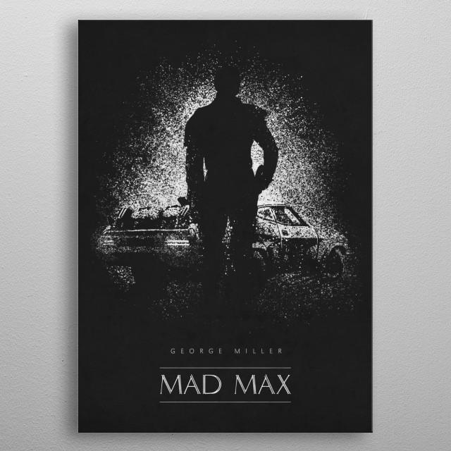Mad Max metal poster