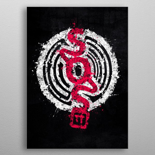 The S.O.S. Brigade! metal poster