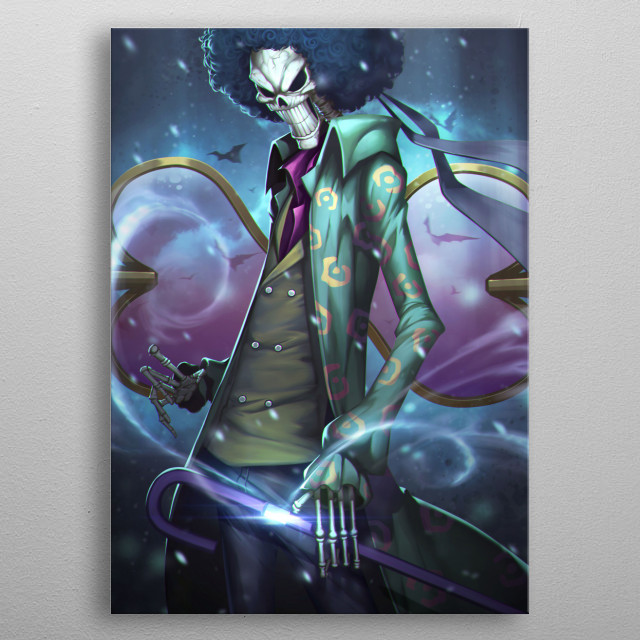 Brook by Zhang Ding  metal poster