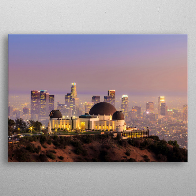 High-quality metal print from amazing Usa Big Cities collection will bring unique style to your space and will show off your personality. metal poster