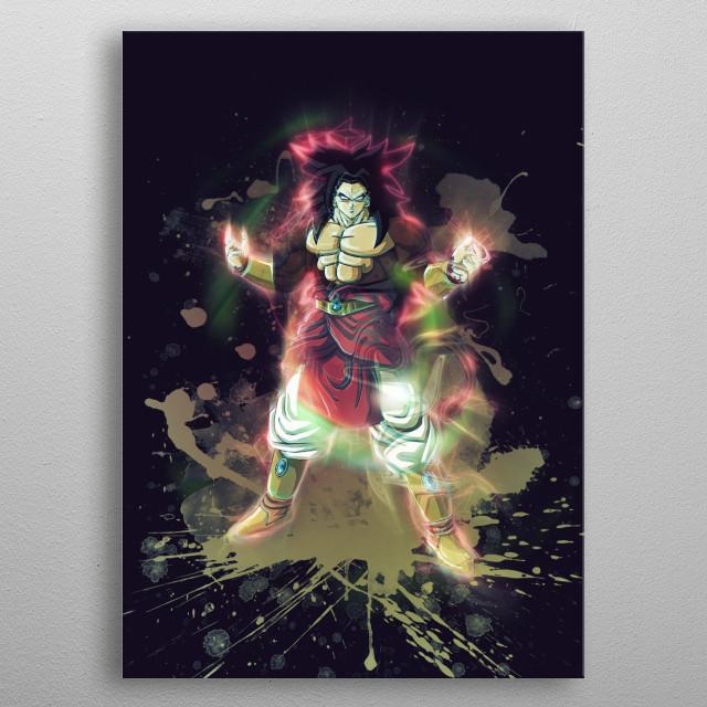 Goku / DragonBall Z / Renegade metal poster