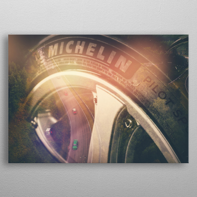 The Arc metal poster