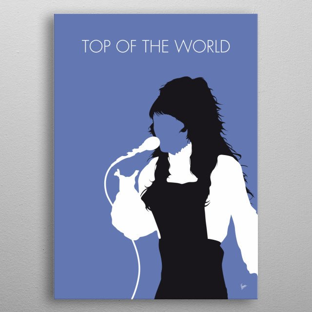 High-quality metal print from amazing Minimal Music Posters collection will bring unique style to your space and will show off your personality. metal poster