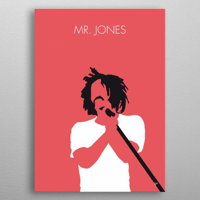 No102 MY Counting Crows Minimal Music poster metal poster