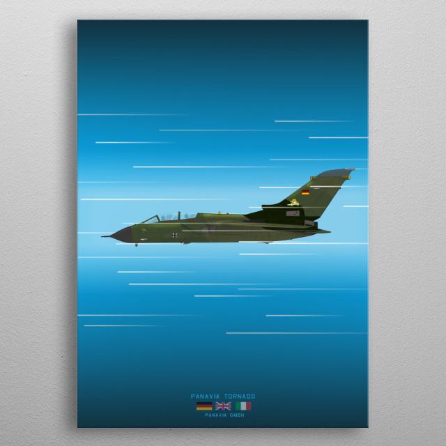 Panavia Tornado metal poster
