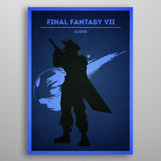 High-quality metal print from amazing Video Games Minimalist collection will bring unique style to your space and will show off your personality. metal poster