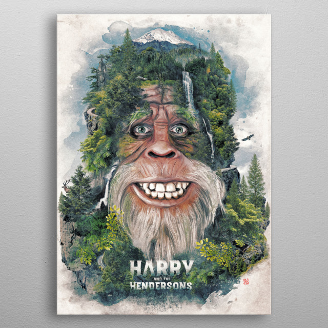 Our Friend Harry my tribute to the wonderful film metal poster