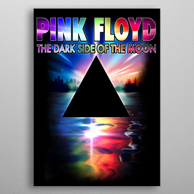 pink floyd by 57 pixels metal posters displate. Black Bedroom Furniture Sets. Home Design Ideas