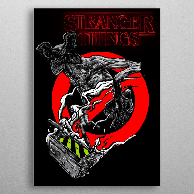 Fascinating metal poster designed by Klevra de Klevris. Displate has a unique signature and hologram on the back to add authenticity to each design. metal poster