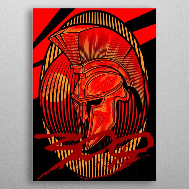 300 metal poster