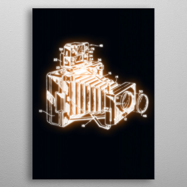 High-quality metal wall art meticulously designed by xaviervieira would bring extraordinary style to your room. Hang it & enjoy. metal poster