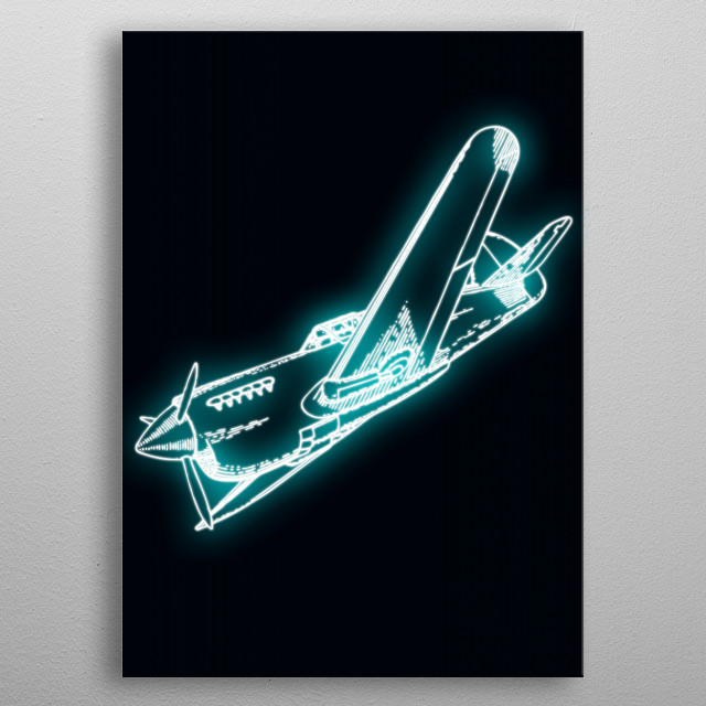 This marvelous metal poster designed by xaviervieira to add authenticity to your place. Display your passion to the whole world. metal poster
