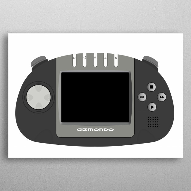 High-quality metal print from amazing Handheld Consoles collection will bring unique style to your space and will show off your personality. metal poster