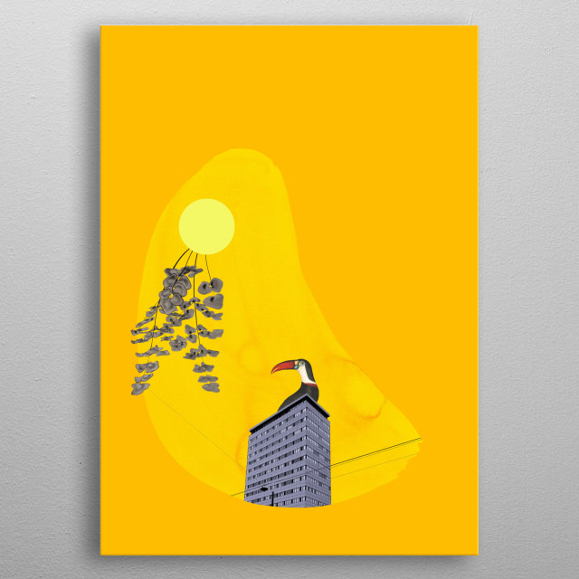 High-quality metal print from amazing Surreal Mood collection will bring unique style to your space and will show off your personality. metal poster