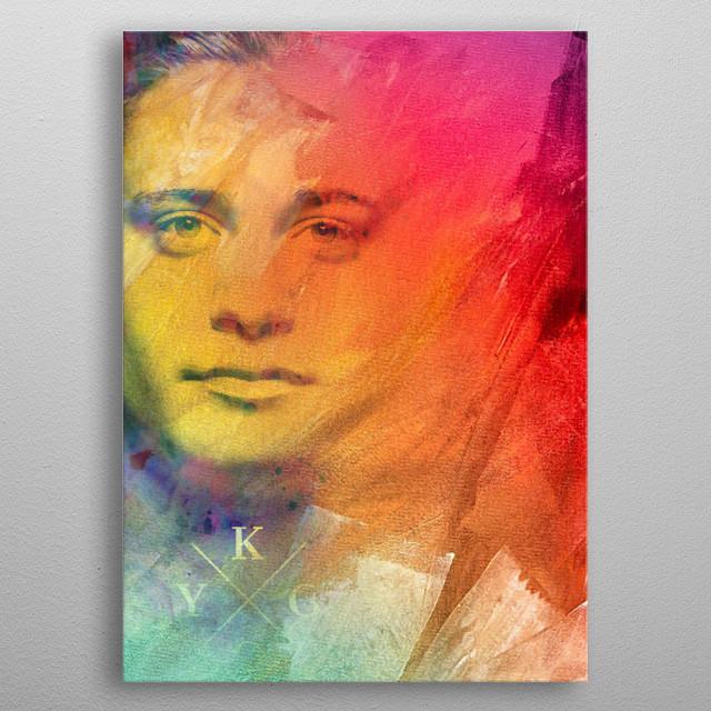 Kygo Illustration - Tropical Fun metal poster