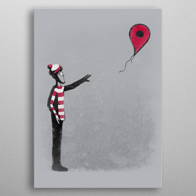 Never Found metal poster