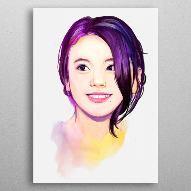 Chaeyoung is a South Korean Singer and a member of TWICE. She is the main rapper of the group and does it so well. metal poster