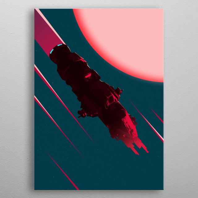 Fascinating  metal poster designed with love by mrjackpots. Decorate your space with this design & find daily inspiration in it. metal poster