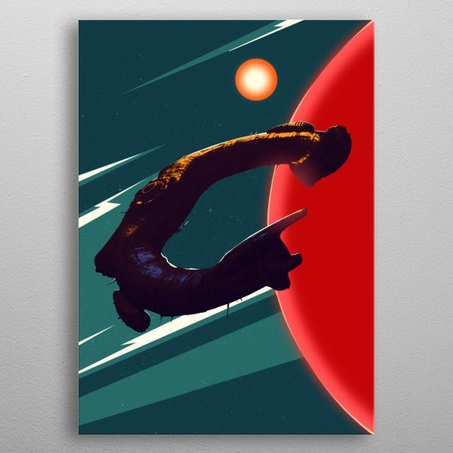 Juggernaut metal poster