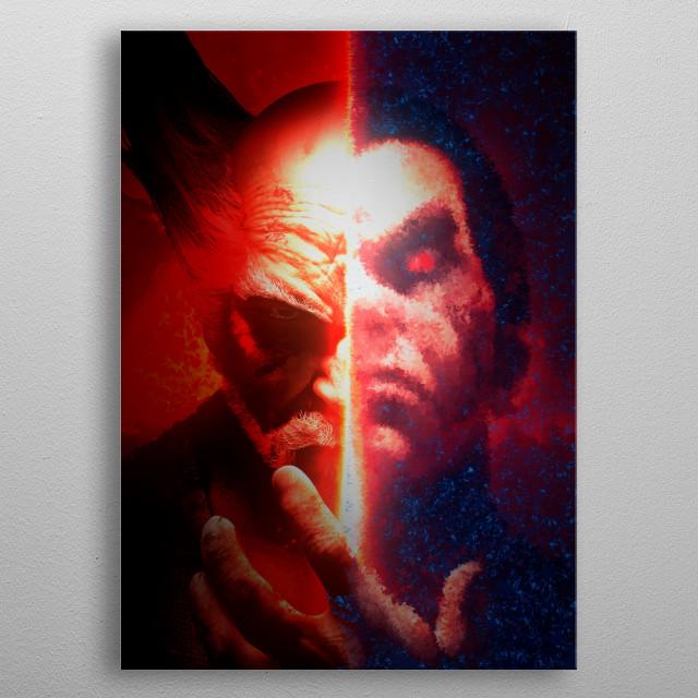 Tekken 7. metal poster