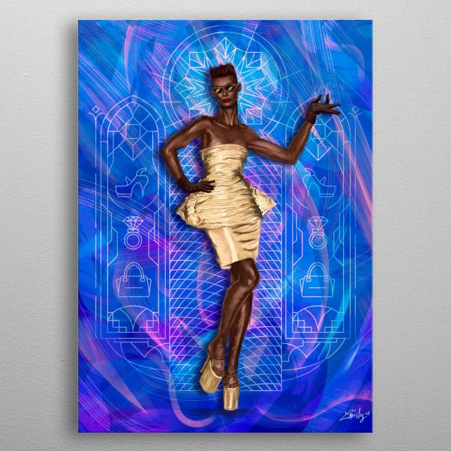 This marvelous metal poster designed by ladislas to add authenticity to your place. Display your passion to the whole world. metal poster
