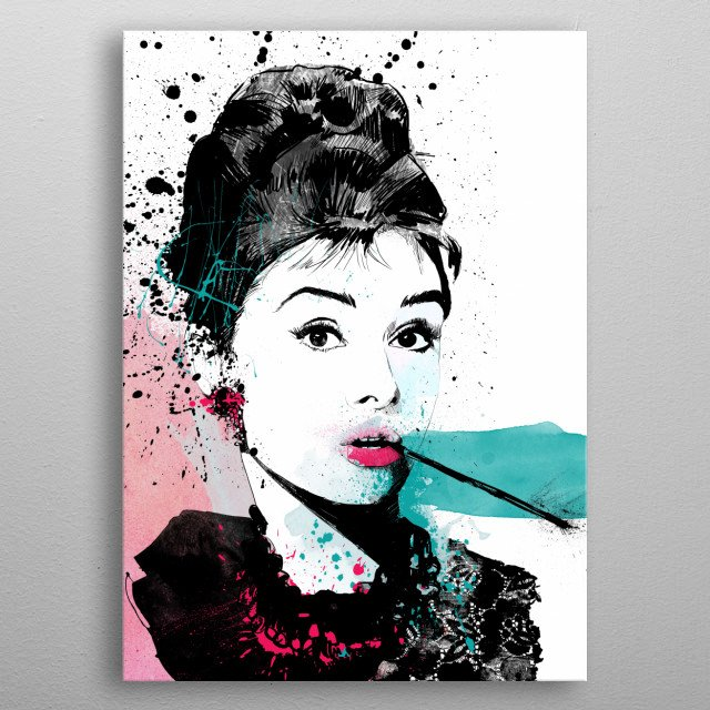 Fascinating  metal poster designed with love by CakeQme. Decorate your space with this design & find daily inspiration in it. metal poster