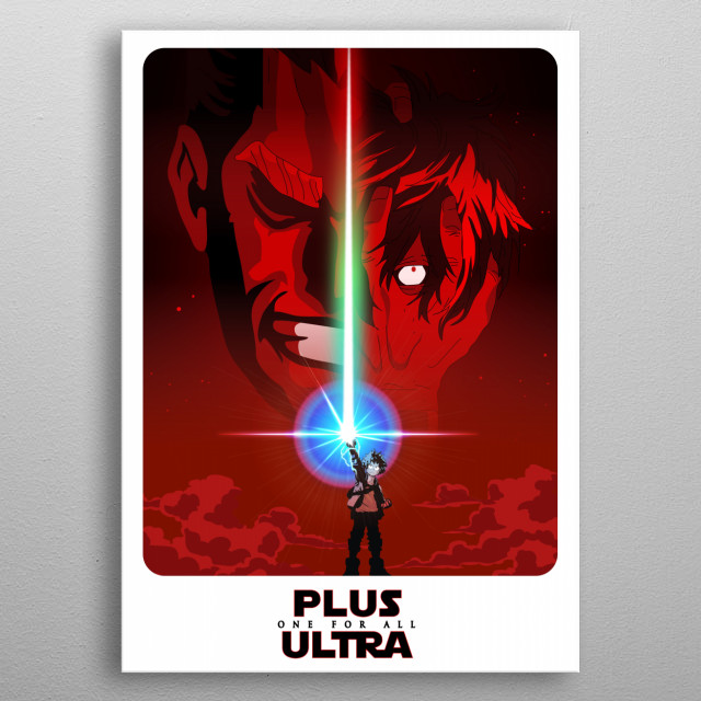 - PLUS ULTRA - metal poster