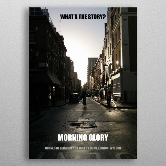 Berwick Street Glory metal poster