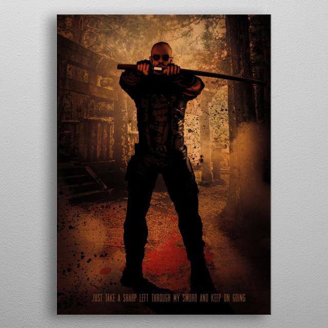 Lo Wang metal poster