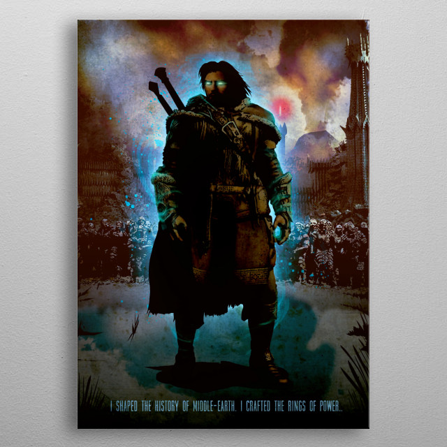 Talion metal poster