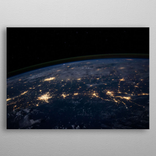 This marvelous metal poster designed by Marinosbitter to add authenticity to your place. Display your passion to the whole world. metal poster