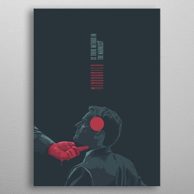 Mindhunter - alternative series poster metal poster