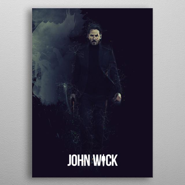 John Wick / Renegade metal poster