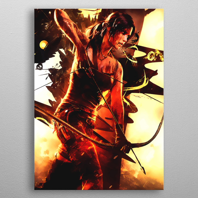 High-quality metal print from amazing Ultimate Gaming Tribute collection will bring unique style to your space and will show off your personality. metal poster