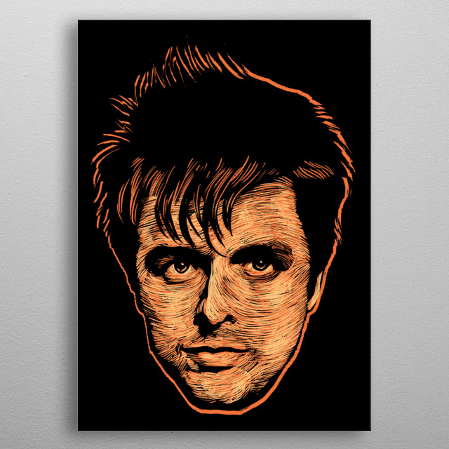 Billie Joe Armstrong metal poster