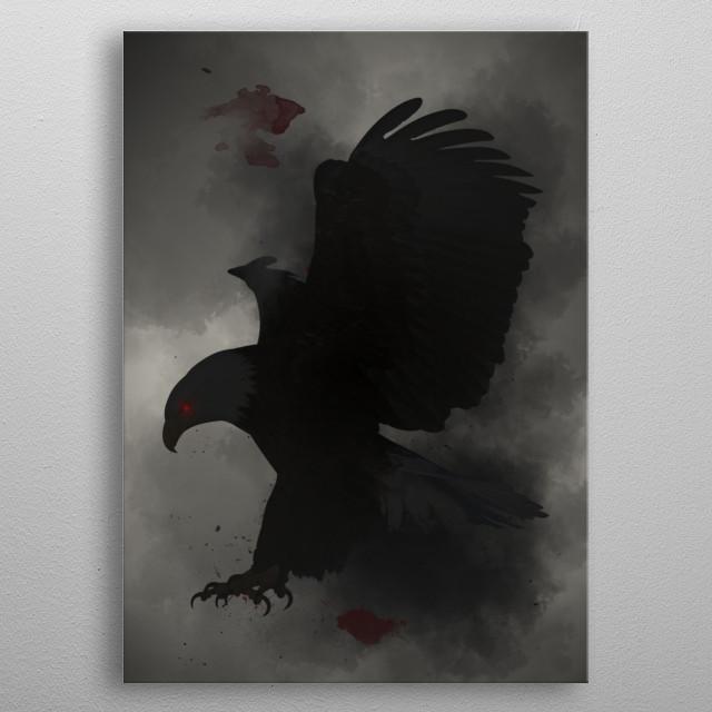 Eagle metal poster